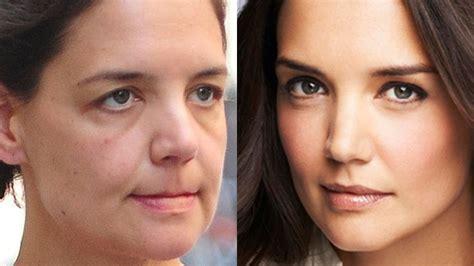 most famous celebrity makeup shocking photos of hot celebrities without makeup mazedar