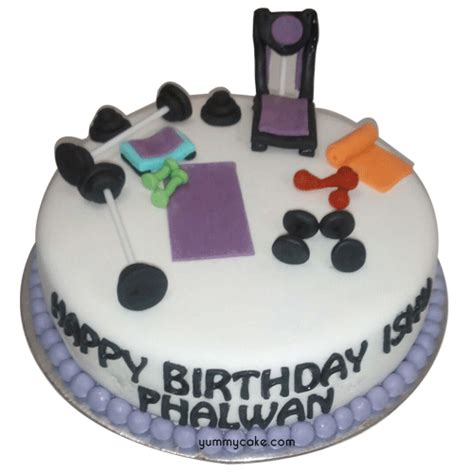 gym cake design gym theme birthday cake yummycake