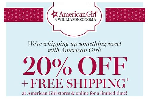 american girl doll free shipping coupon 2018