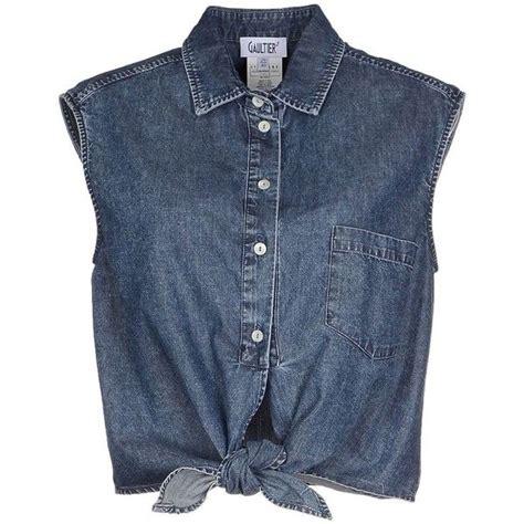best denim best 25 sleeveless denim shirts ideas on