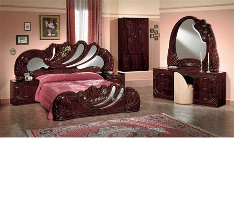 bedroom sets with vanity dreamfurniture com vanity mahogany italian classic