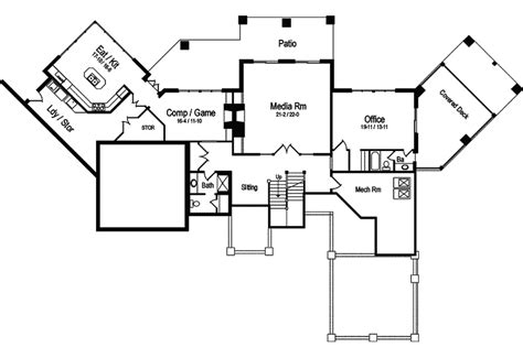 taos luxury mountain home plan 082s 0001 house plans and