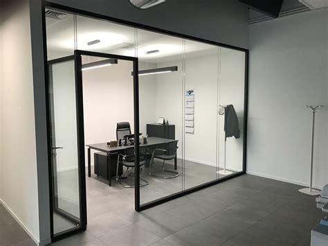 pareti ufficio pareti divisorie in vetro l eleganza per i tuoi uffici