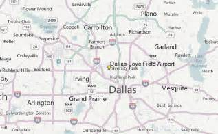 Dallas Love Field Airport Map by Dallas Love Field Airport Weather Station Record