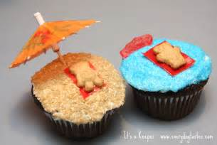 beach inspired cupcakes it is a keeper