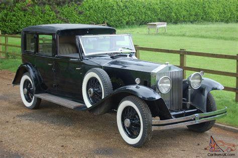 1931 rolls royce phantom ii brewster town car