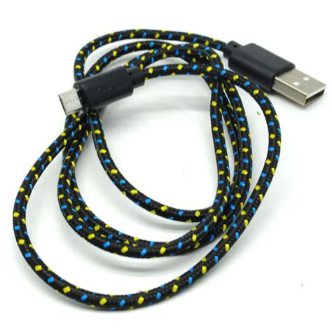 Taffware Normal Charging Sync Data Micro Usb Cable 4cqea8 White taffware color braided charging sync data micro usb