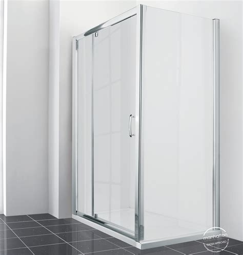 Manhattan Shower Door Parts Manhattan New Era 6 Extended Pivot Shower Door 1400mm