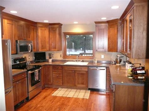 restoring old kitchen cabinets project of the month award goes to russ and pam rysavy