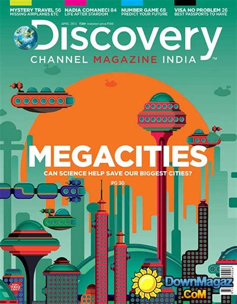 Kaos Discovery Channel discovery channel magazine india april 2014 187