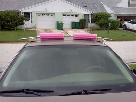 Car Top Carriers Without Roof Rack by Really Simple Roof Rack For Cars Without Gutters