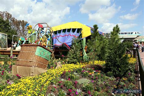 Epcot Flower Garden Epcot Flower Garden Festival 2014
