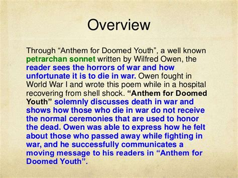 curtain poem summary wilfred owen poem anthem for doomed youth mypoems co