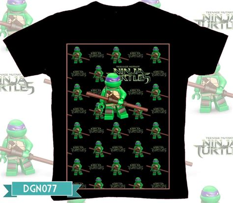 Kaos S I D Size Xl t shirt jual t shirt mutant turtles