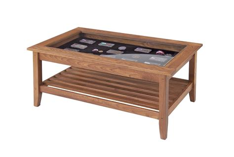 Coffee Table With Display Top Coffee Table Display Glass Top Coffee Table Design Ideas