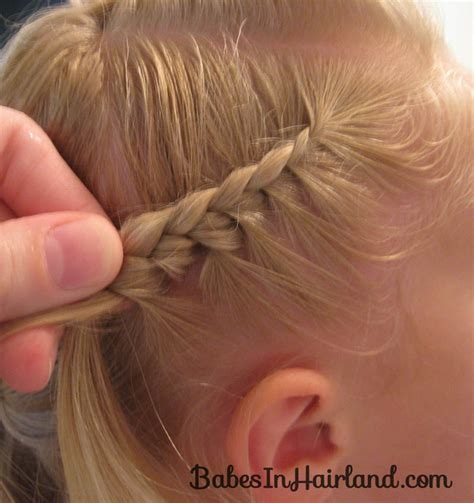 feather braiding technique cascade feathered braid hairstyle babes in hairland