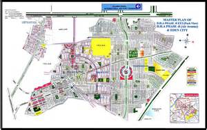 view map dha 8 park view map