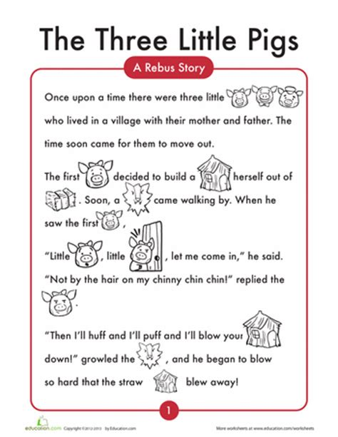 The Three Day Novel by The 3 Pigs Worksheets Reading Comprehension And