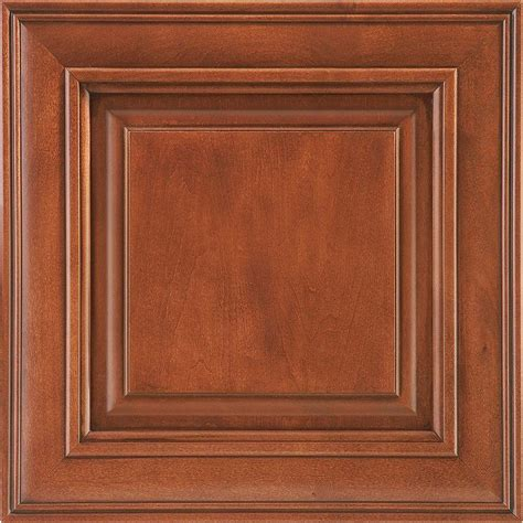 maple auburn glaze cabinets american woodmark 14 9 16x14 1 2 in cabinet door sle