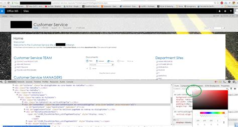 reset sharepoint online to default change color using css sharepoint online sharepoint