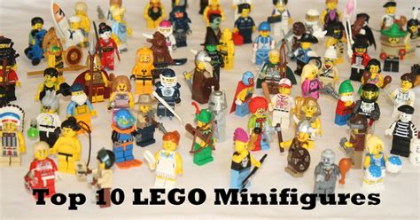 best lego toys and bacon top 10 collectible lego minifigures