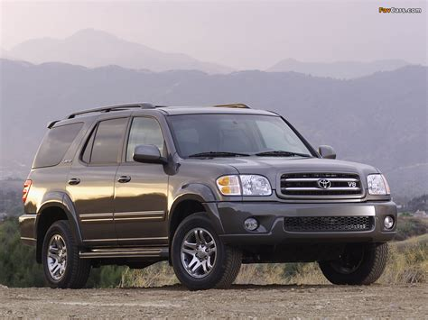 05 Toyota Sequoia Pictures Of Toyota Sequoia Limited 2000 05 1024x768