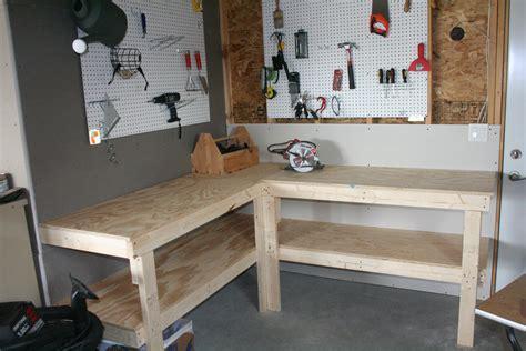 Garage Workbench Design Garage Corner Workbench Plans Galleryhip Com The