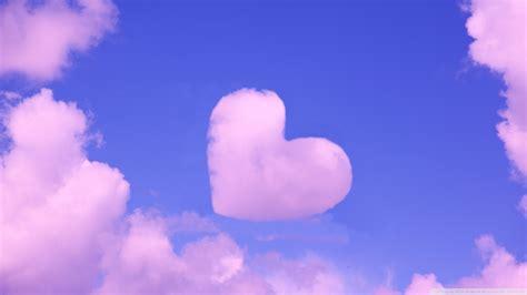 full hd wallpaper cloud heart sky desktop backgrounds hd