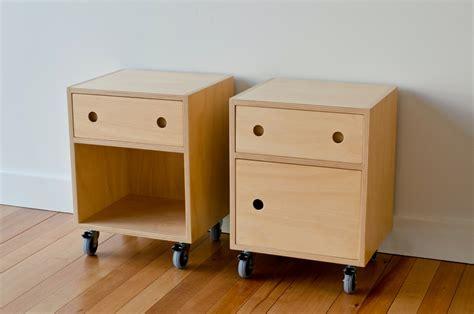 bedside tables matchbox natural pine plywood bedside fabrication and design portfolio eddie vorvolakos
