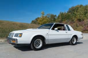 Buick Regal T Type For Sale White 1987 Buick Regal T Type For Sale Mcg Marketplace
