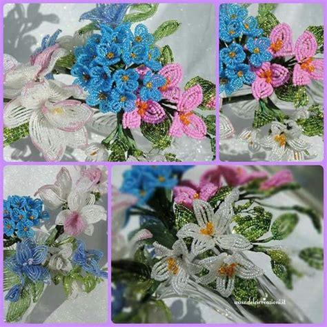 fiori perline oltre 1000 idee su fiori di perline su perline