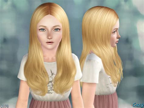 the sims 4 hair for female kids the sims resource cazy s jodie hairstyle set