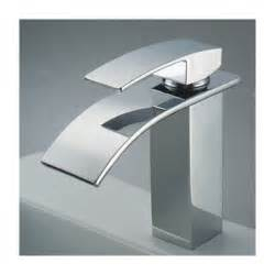 Bathroom Sinks And Faucets Chrome Finish Single Handle Waterfall Bathroom Sink Faucet