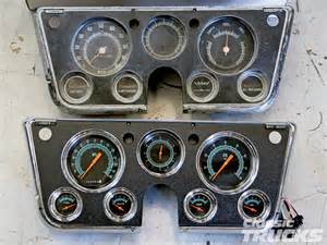classic instruments panels for 1967 1972 chevys and