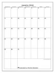 Calendario Janeiro 2018 Calend 225 Para Imprimir Janeiro 2018 Antonius Portugal