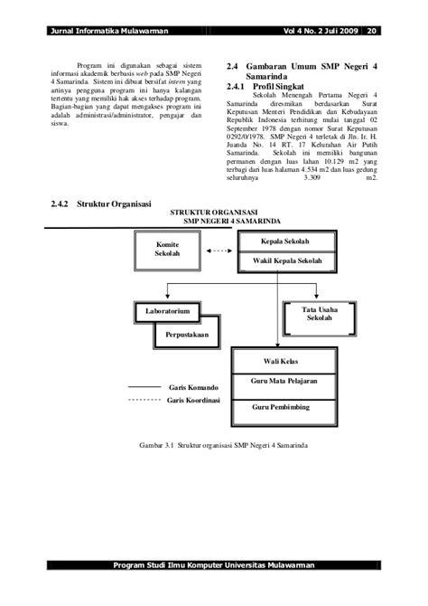 desain database sistem informasi akademik jurnal sistem informasi web sekolah sistem informasi