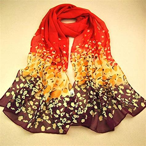 fall colors chiffon scarf only 3 29 shipped become a