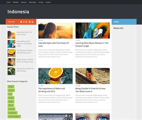 blogger indonesia 65 best free responsive blogger templates 2018