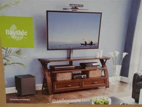 tv stands costco bayside furnishings ario 3 in 1 tv stand
