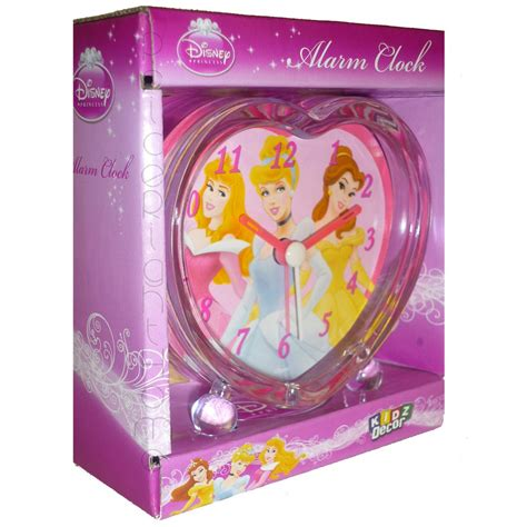disney princess shaped alarm clock new free p p ebay