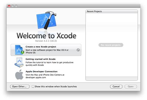 sle xcode iphone projects dont iphone 개발 hello world