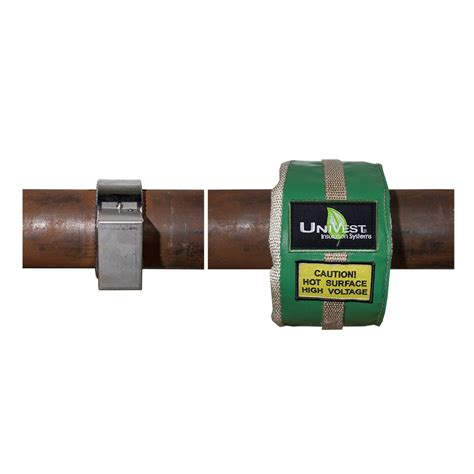 10 Inch Diameter Ceramic Pipe - 8 inch to 10 inch removable pipe and heater insulation