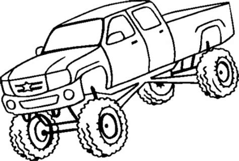 Mud Truck Coloring Pages mud trucks free coloring pages