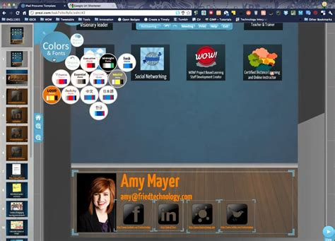 how to use prezi to create a stunning resume template provided