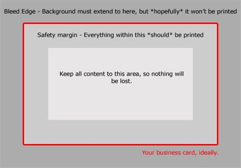 business card bleed template how to make a business card in 5 minutes and win