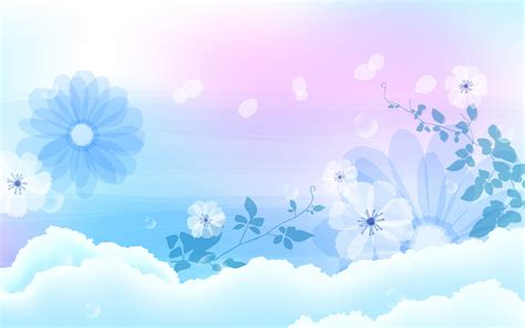 Baby Background Wallpaper Wallpapersafari Blue Flower Powerpoint Backgrounds Hd Free Wallpaper