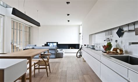 cucina soggiorno moderno come arredare cucina e soggiorno in un open space