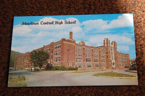 learning l johnstown pa 86 blank postcards old johnstown central high