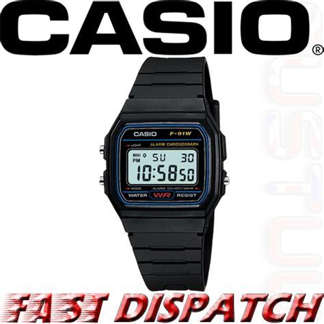 Casio Classic F91w genuine casio f91w classic digital retro sports alarm