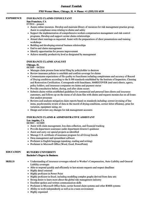 Catastrophe Claims Adjuster Sle Resume by Catastrophe Claims Adjuster Sle Resume Exle Of A Receipt
